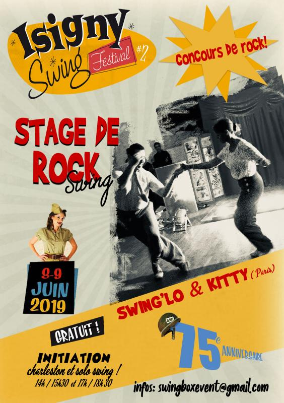Stage Rock Swing d'Isigny